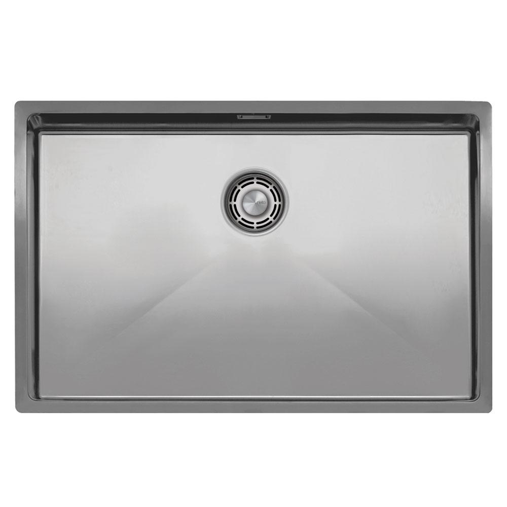الفولاذ المقاوم للصدأ حوض المطبخ - Nivito CU-700-B