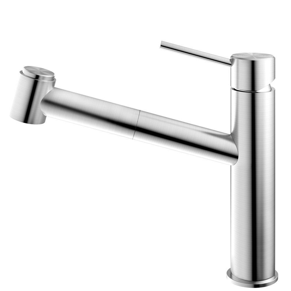 الفولاذ المقاوم للصدأ حنفية المطبخ خرطوم السحب - Nivito EX-800