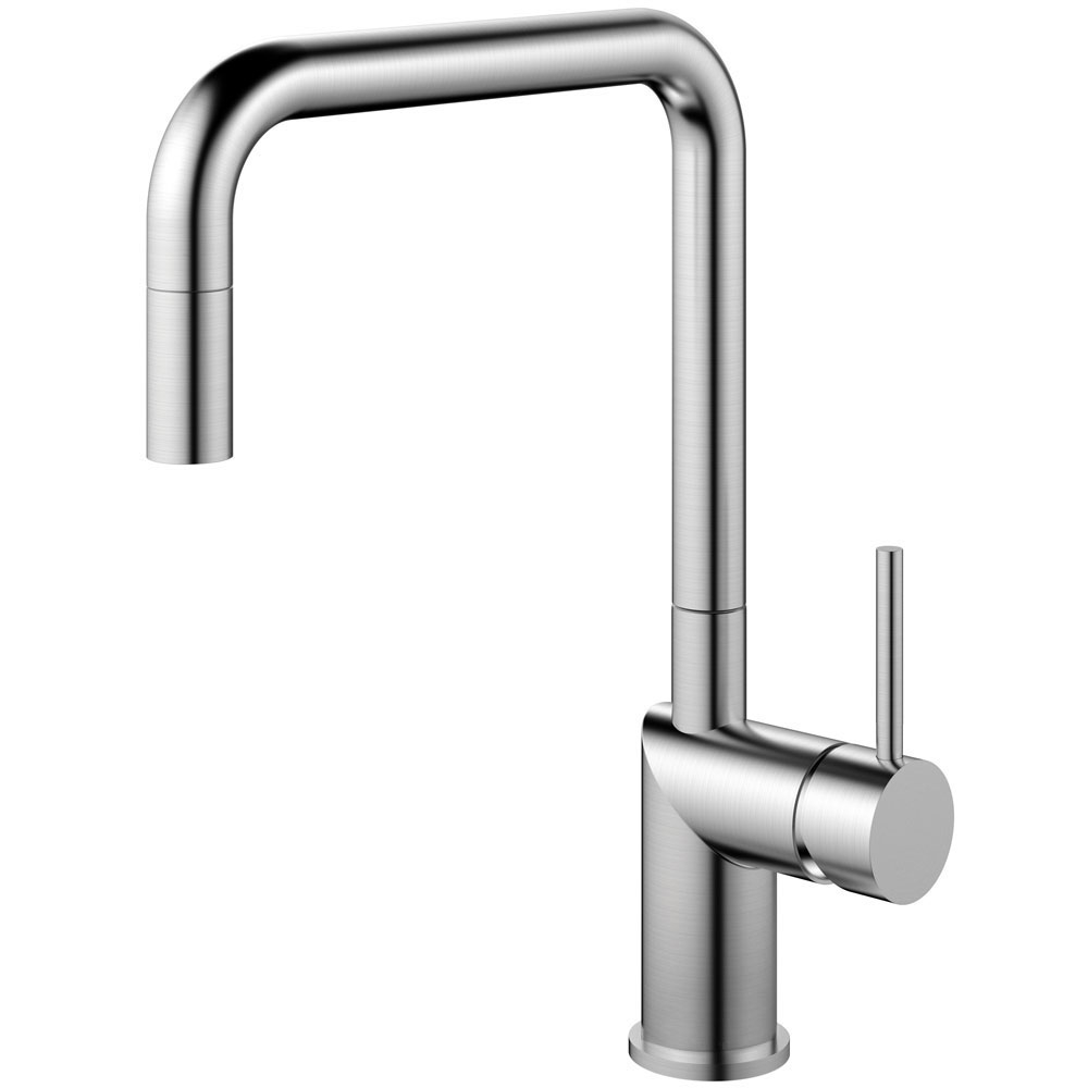 Stainless Steel Kitchen Sink Mixer Tap Pullout hose - Nivito RH-300-EX