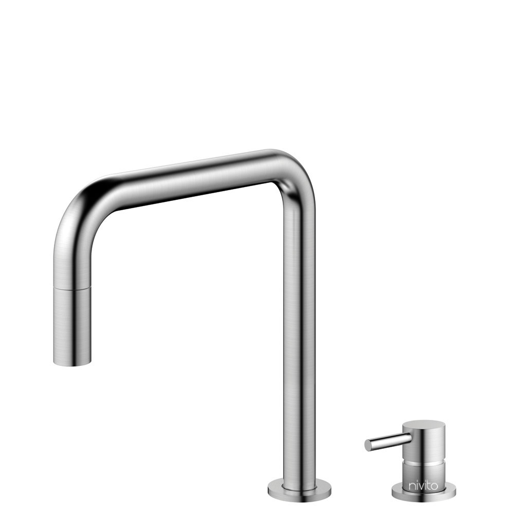 Stainless Steel Tap Pullout hose / Seperated Body/Pipe - Nivito RH-300-VI