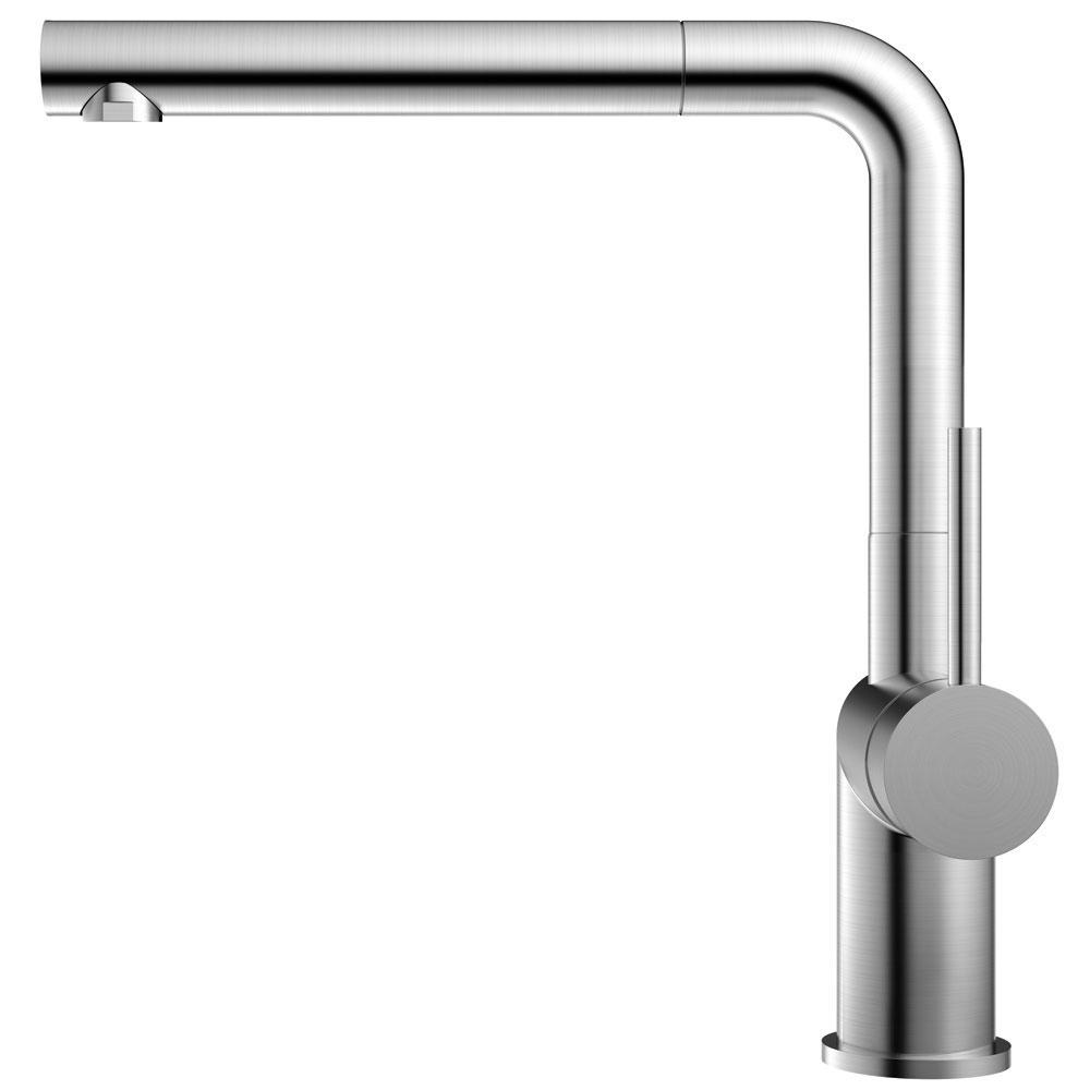 الفولاذ المقاوم للصدأ حنفية المطبخ خرطوم السحب - Nivito RH-600-EX