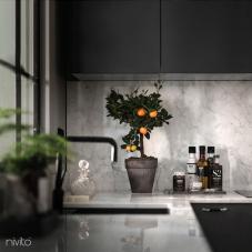 أسود صنبور المطبخ - Nivito 10-RH-320