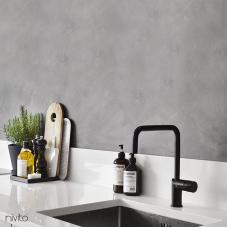 أسود صنبور المطبخ - Nivito 2-RH-320