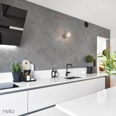 أسود صنبور المطبخ - Nivito 4-RH-320