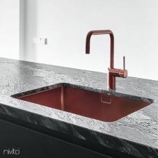 Copper mixer tap single lever mono tap