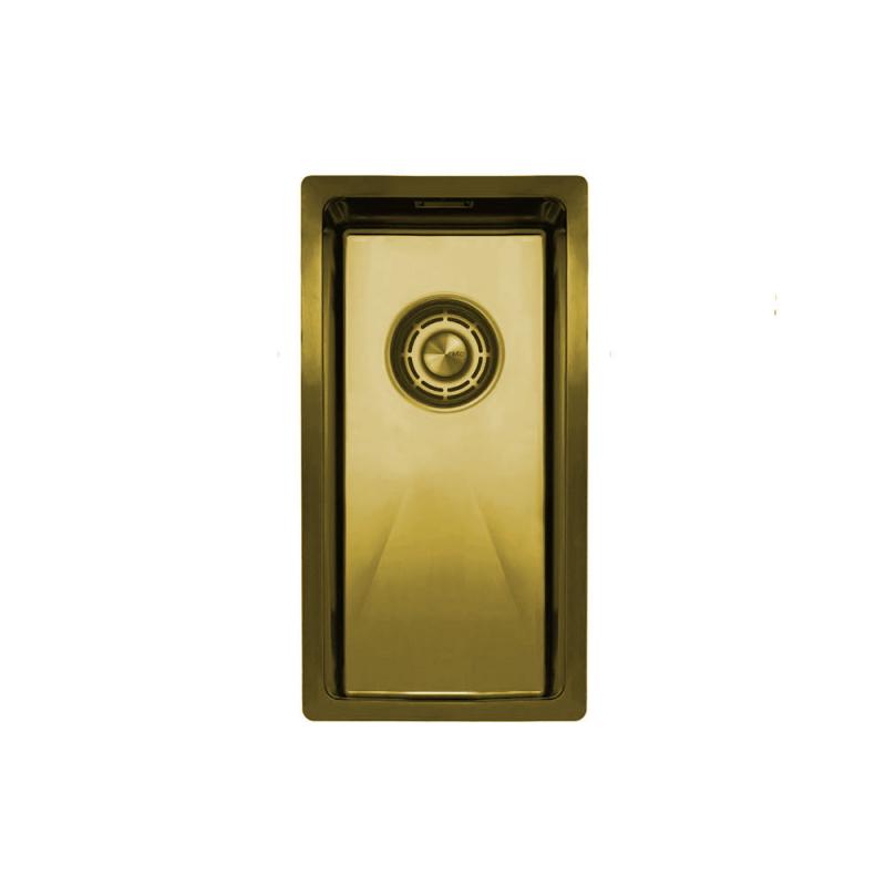 Brass/Gold Kitchen Sink - Nivito CU-180-BB