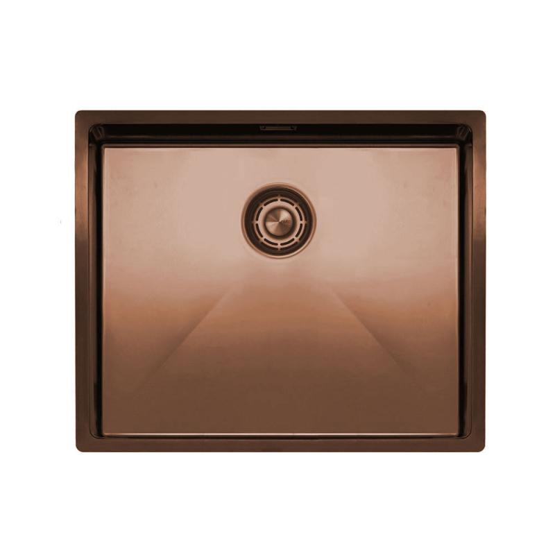 Copper Kitchen Sink - Nivito CU-500-BC