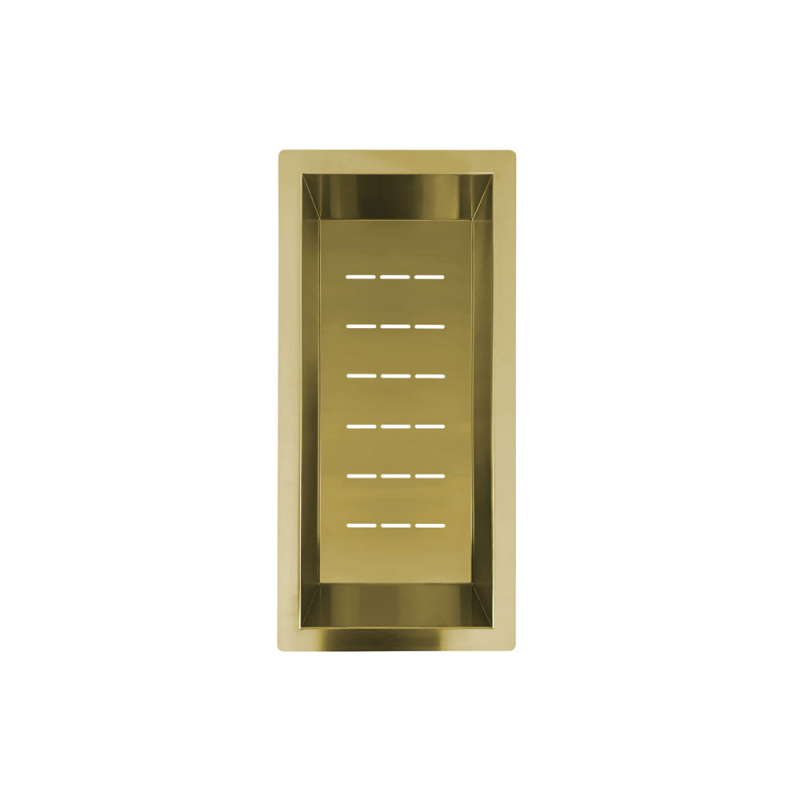 Brass/Gold Strainer Bowl - Nivito CU-WB-200-BB