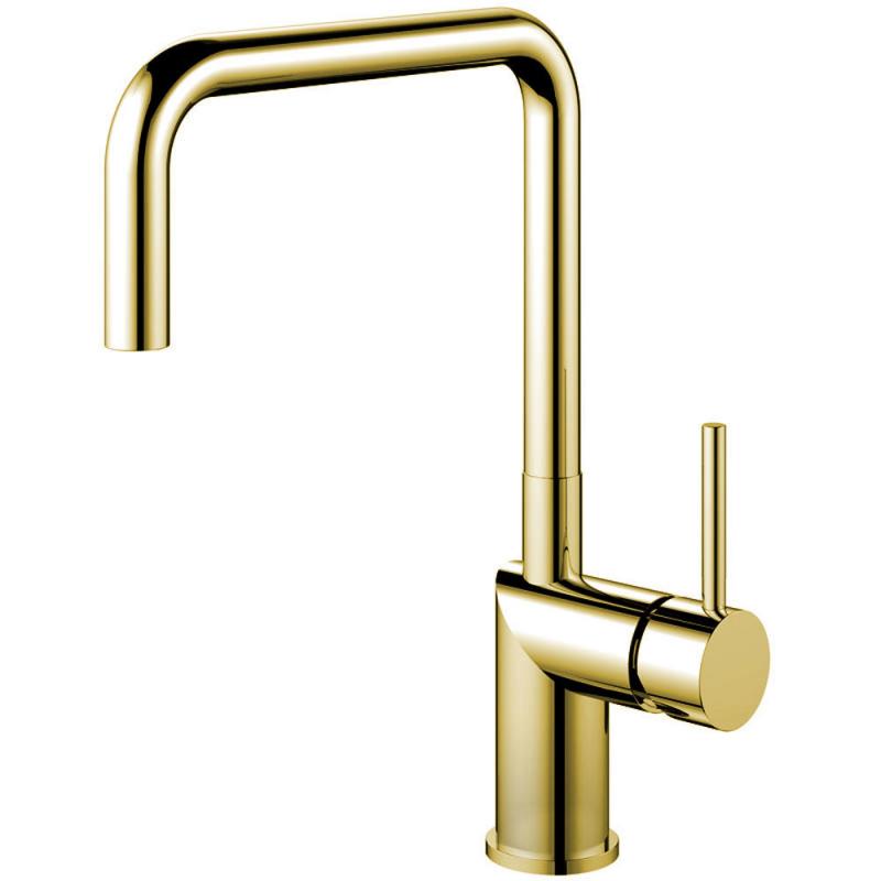 Brass/Gold Kitchen Mixer Tap - Nivito RH-360