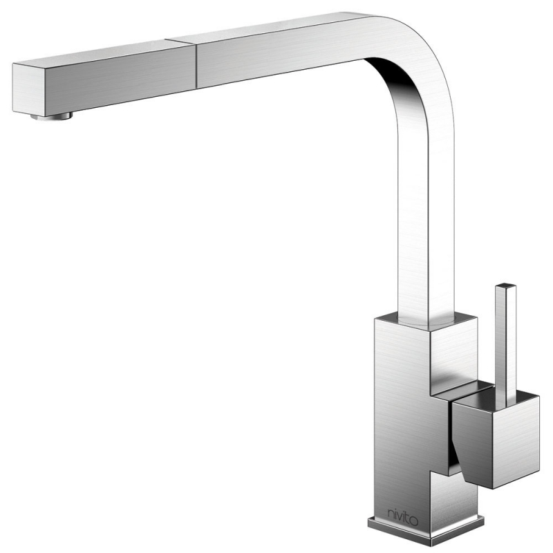 Stainless Steel Kitchen Mixer Tap - Nivito SP-300