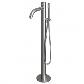 Stainless Steel Stand Alone Bathtub Mixer Tap - Nivito CR-10