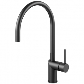 Black Kitchen Tap - Nivito RH-120