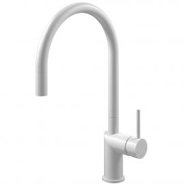 أبيض حنفية المطبخ خرطوم السحب - Nivito RH-130-EX