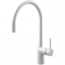 White Kitchen Mixer Tap - Nivito RH-130