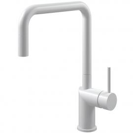 أبيض حنفية المطبخ خرطوم السحب - Nivito RH-330-EX